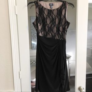 Black Lace Dress Size 10